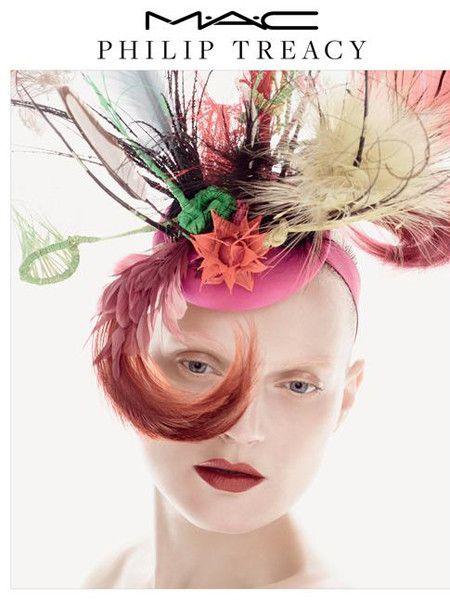 Безумный шляпник Филип Трейси и MAC создали коллекцию макияжа