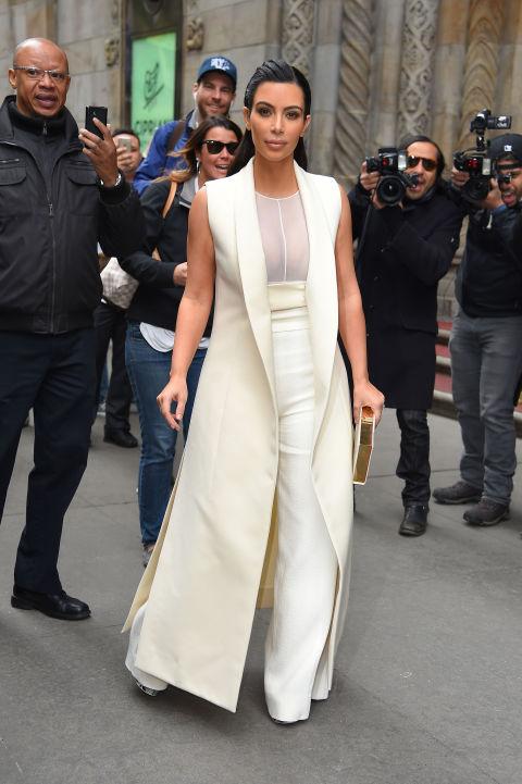 Итоги года: лучшие образы Ким Кардашьян