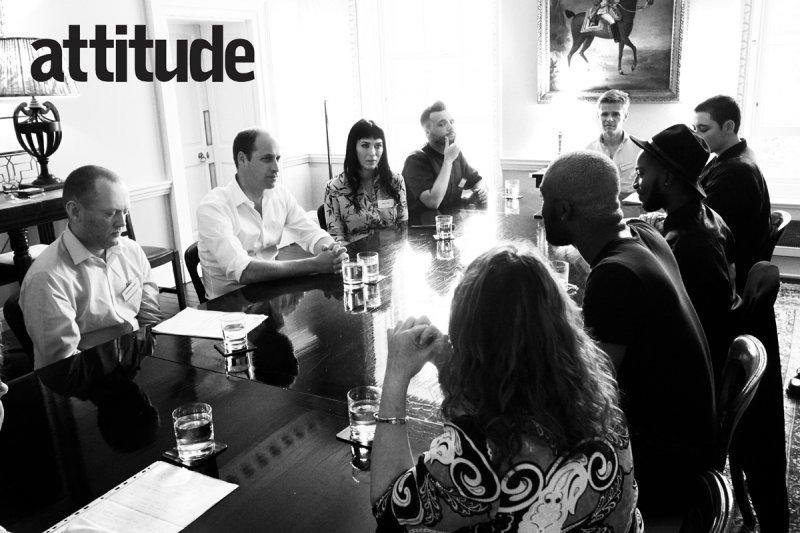 Беспрецедентный случай: Принц Уильям стал главным героем гей-журнала Attitude