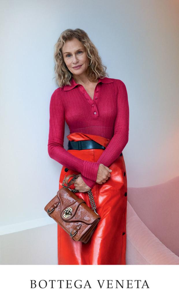 73-летняя модель стала лицом Bottega Veneta (ФОТО)