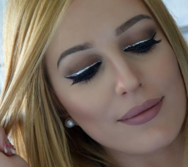 10 впечатляющих вариантов трендового макияжа глаз с глиттером (ФОТО)