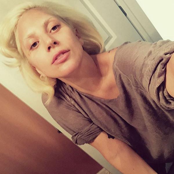 Леди Гага смыла косметику и шокировала своим лицом фото