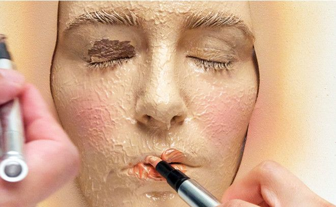 365 слоев макияжа видео
