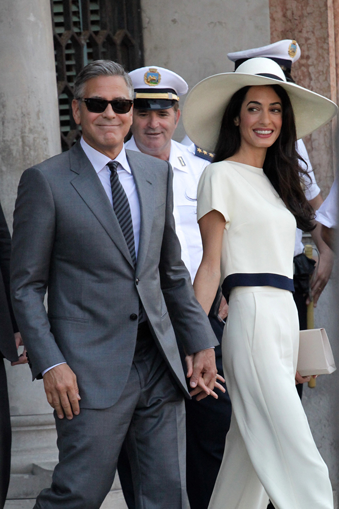 Снова свободна? Амаль Клуни подала на развод!