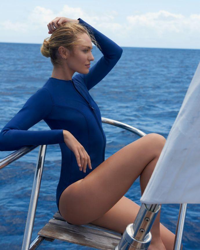 Чистая красота: Кэндис Свейнпол стала лицом Biotherm