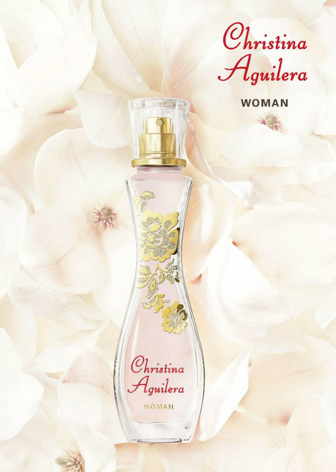 Обворожительная Кристина Агилера представила женственный аромат