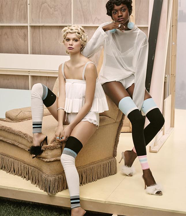 Рианна выпустила коллекцию носков фото 2016