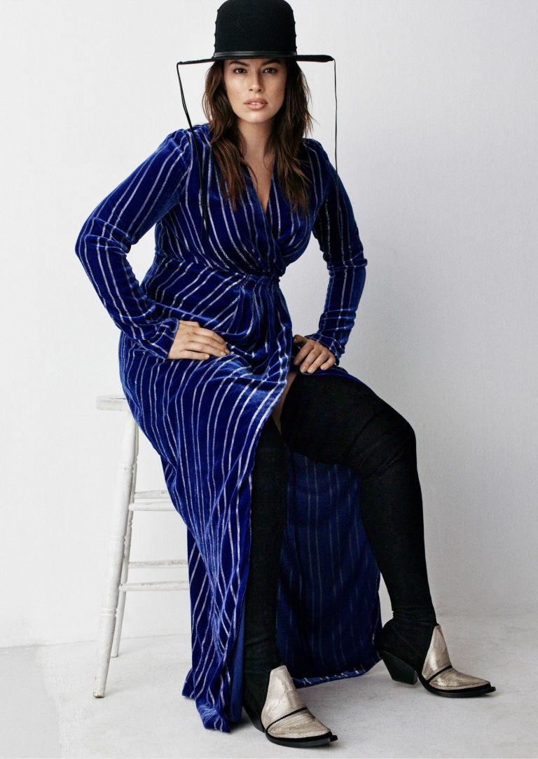 Масс-маркет для всех: plus-size модель Эшли Грэм стала лицом бюджетной марки одежды