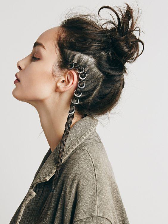 Новый тренд пирсинг для волос (ФОТО)