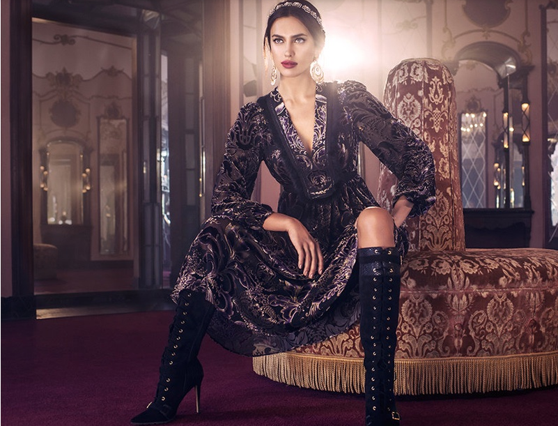 Жизнь как праздник: роскошная Ирина шейк в рекламной кампании Bebe