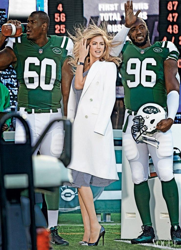 Нарасхват: Кейт Аптон появилась в компании красавцев-спортсменов