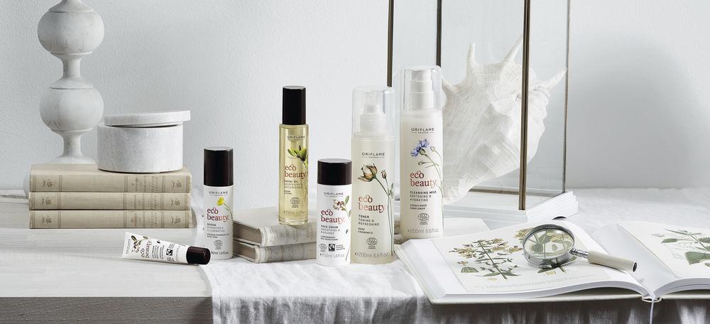 Органические экстракты из сердца природы: новая серия по уходу за кожей Ecobeauty от Oriflame