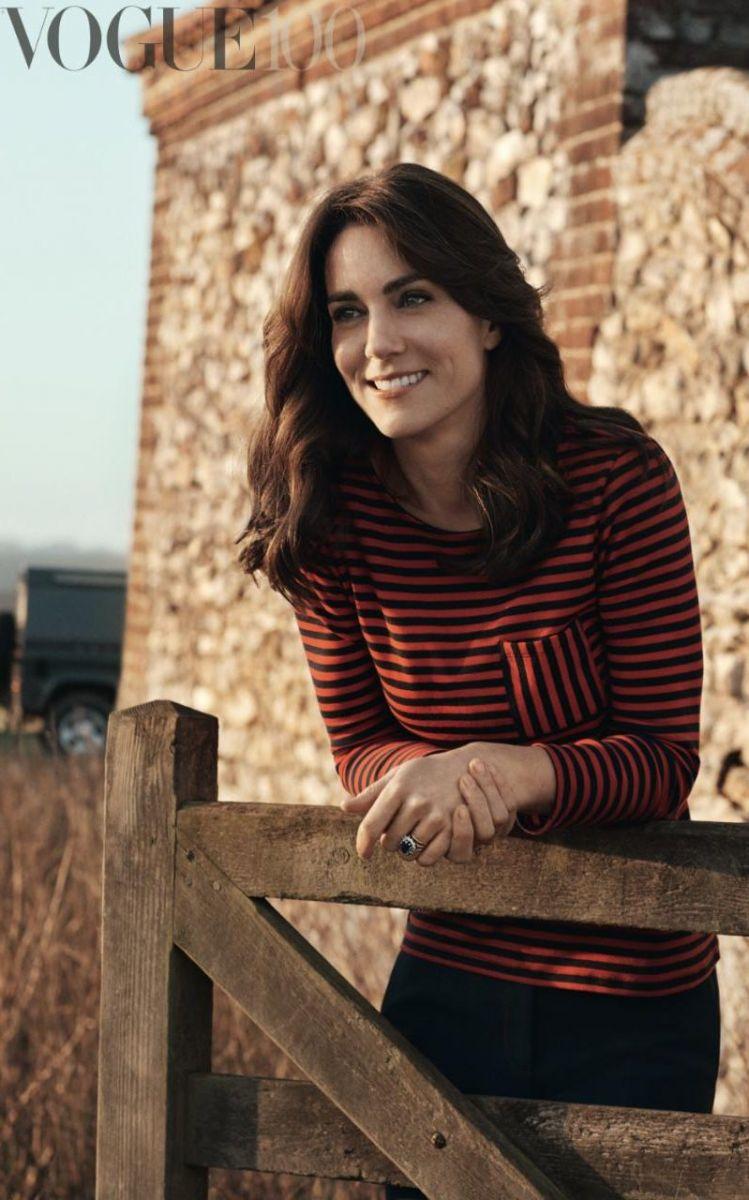 Кейт Миддлтон впервые украсила обложку Vogue фото