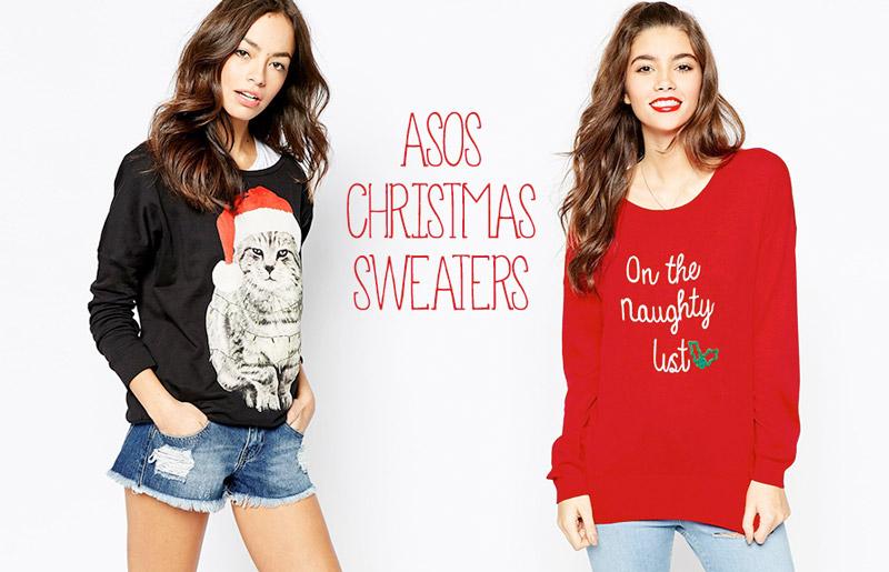 9 новогодних свитеров от ASOS, которые нужно заказать уже сейчас