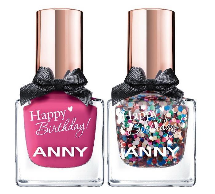 Дай пять: новая коллекция лаков Happy 5th Annyversary от Anny в честь пятилетия бренда