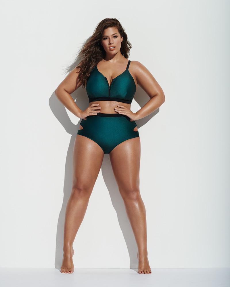 Красоты должно быть много: плюс-сайз модель Эшли Грэм снялась в рекламе спортивной одежды