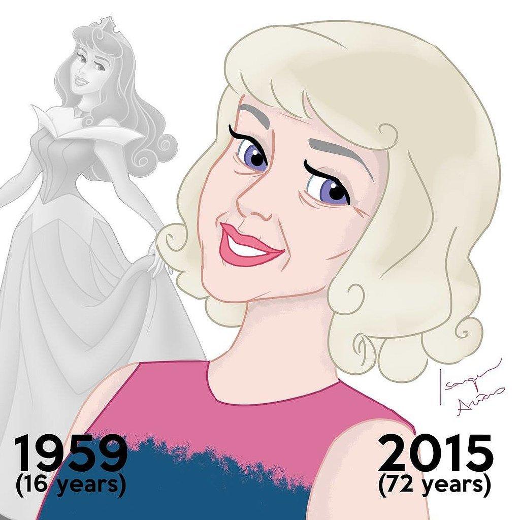 По паспорту: как выглядели бы диснеевские принцессы, если б старели