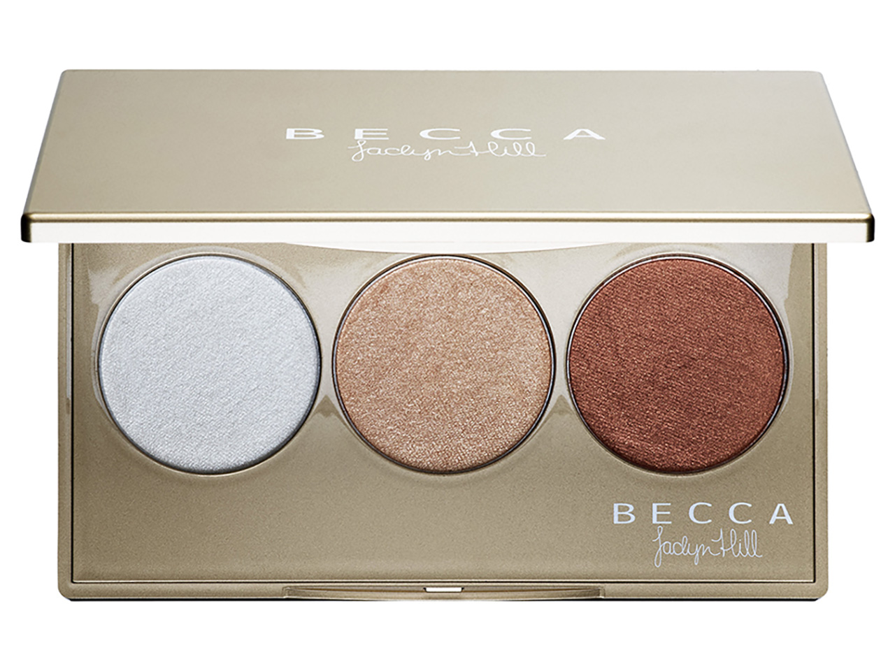 Палетка хайлайтеров Becca Shimmering Skin Perfector Pressed Champagne Glow Palette, цена: $34