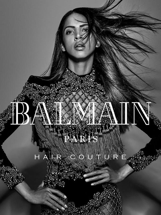 Волосы напрокат: Balmain представили коллекцию париков