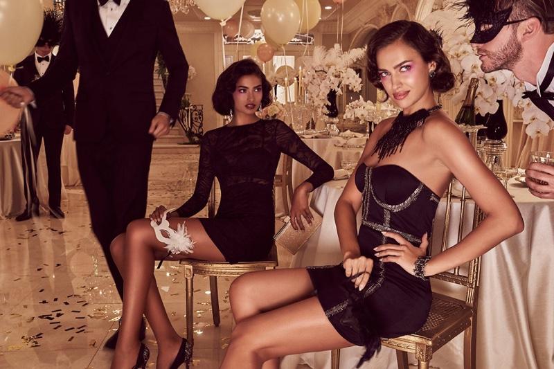 Праздник продолжается: новые фото Ирины Шейк в рекламной кампании Bebe