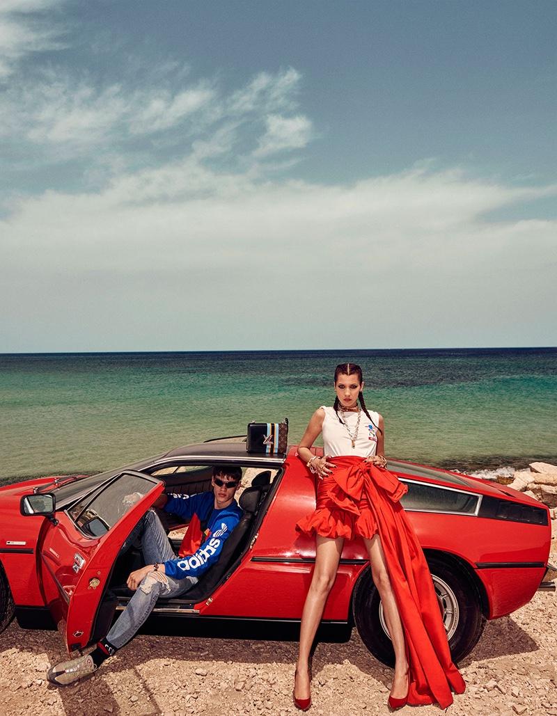 Очень необычна съемка Беллы Хадид для японского Vogue удивила пользователей (ФОТО)