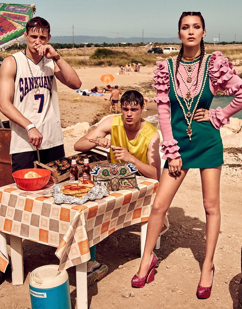 Очень необычна съемка Беллы Хадид для японского Vogue удивила пользователей (ФОТО)ё
