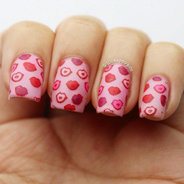 День святого Валентина: 14 лучших вариантов маникюра на 14 февраля