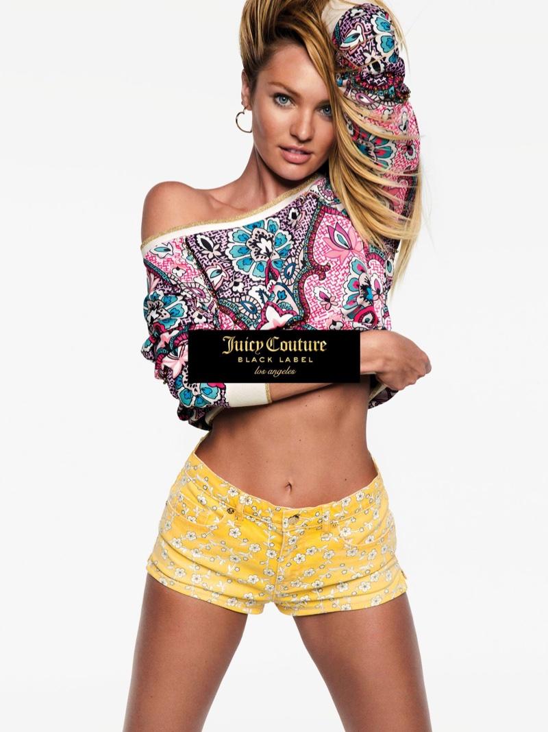 Веселье полным ходом: Кэндис Свейнпол и Бехати Принслу в яркой кампании Juicy Couture