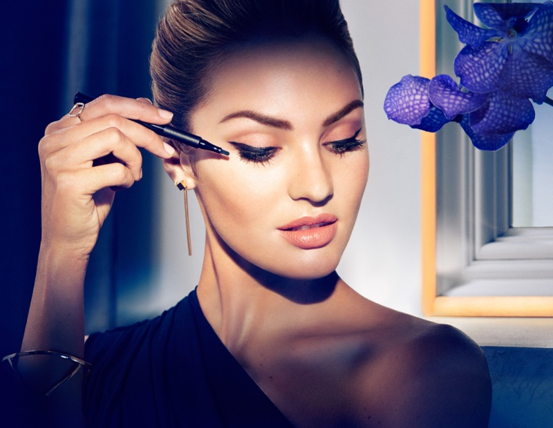 Кэндис Свейнпол в образе Мэрилин Монро для  Max Factor фото