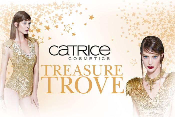 Шик, блеск, красота: рождественская коллекция для макияжа Treasure Trove от Catrice
