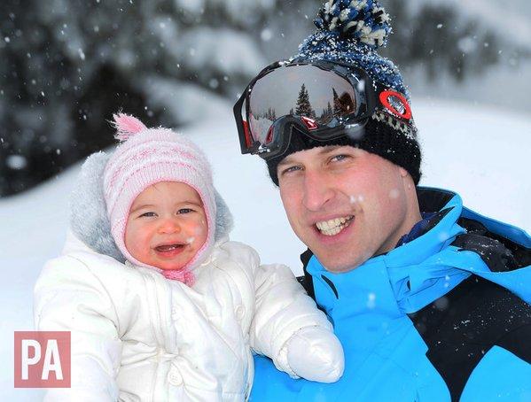 Зимняя сказка: новая фотосессия Кейт Миддлтон, принца Уильяма и их детишек