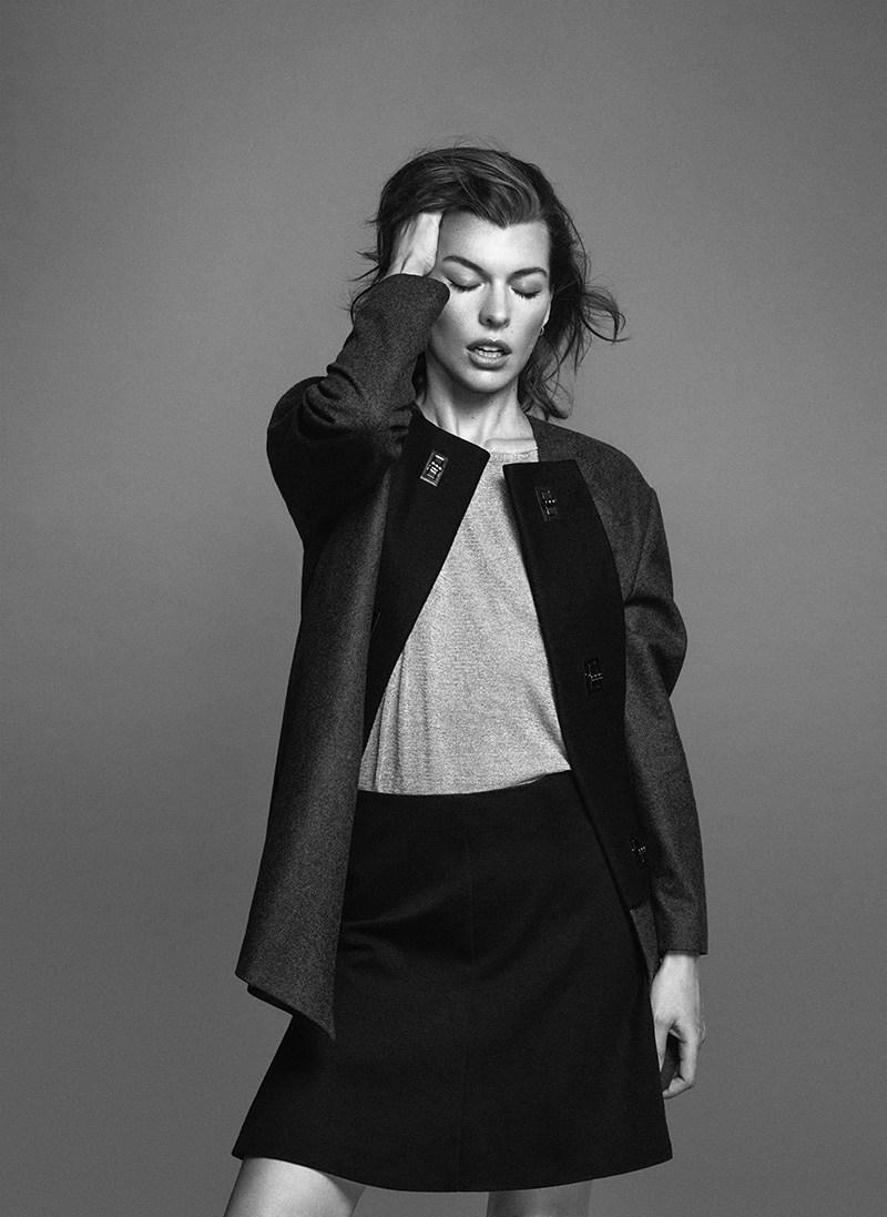 Обворожительная Милла Йовович стала лицом новой коллекции