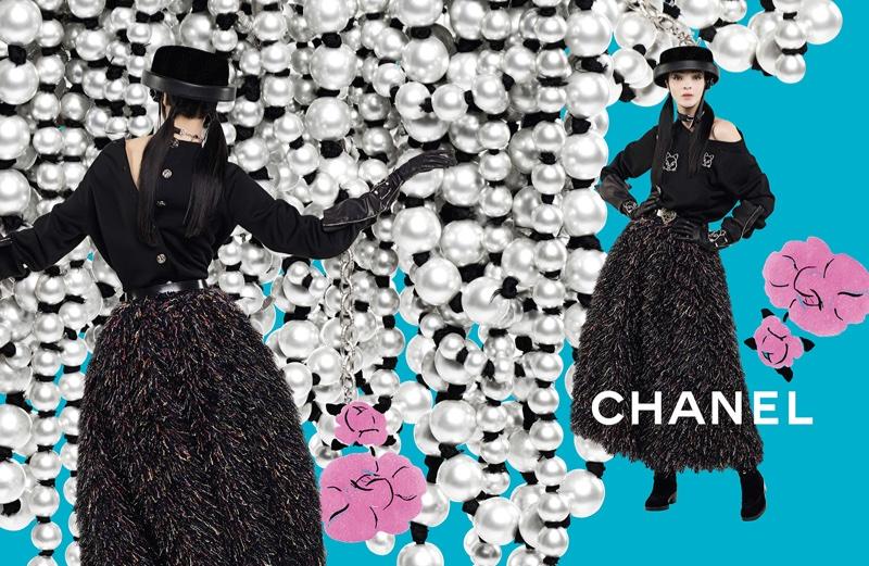 Chanel осень-зима 2016 фото