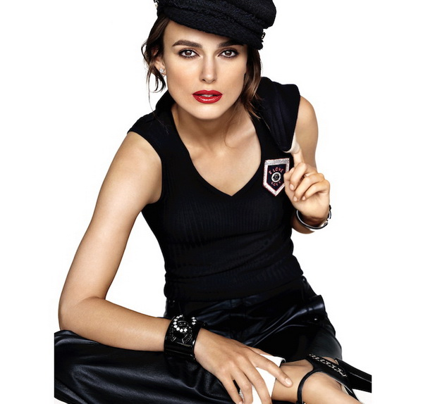 Роковая Кира Найтли представляет огромную коллекцию помад  Chanel