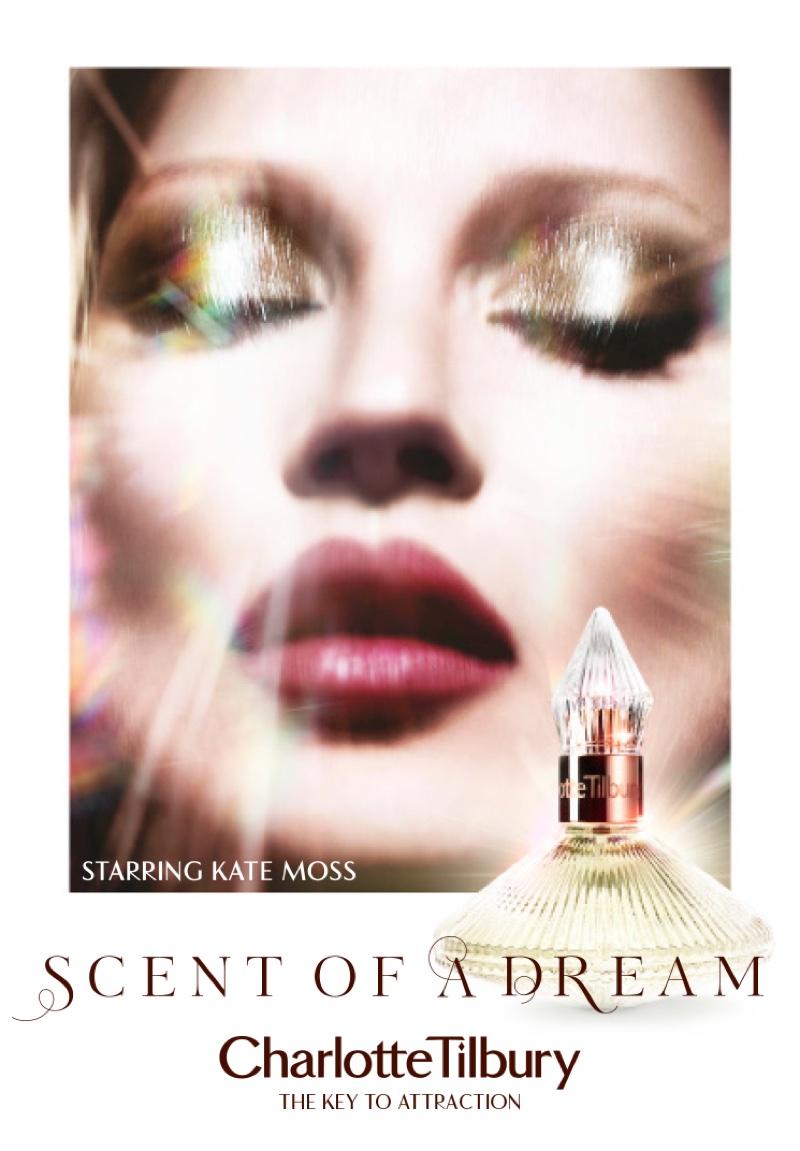 Кейт Мосс снялась для рекламной компании дебютного аромата Charlotte Tilbury (ФОТО+ВИДЕО)