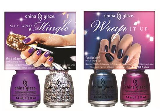 China Glaze Cheers Collection Holiday 2015