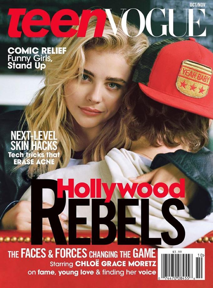Хлоя Грейс Морец позирует с Бруклином Бекхэмом для обложки Teen Vogue (ФОТО)