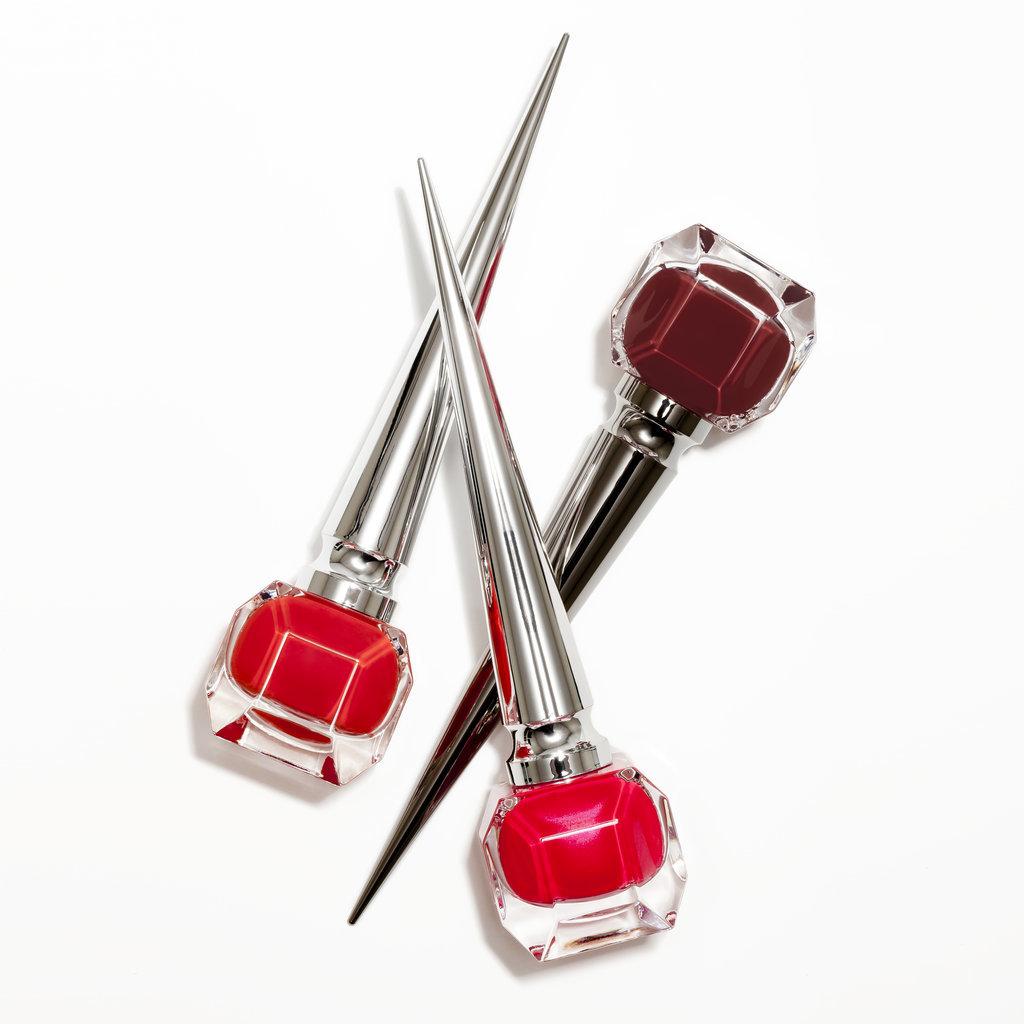 Три оттенка красного: три новых лака для ногтей от маэстро туфель Кристиана Лабутена