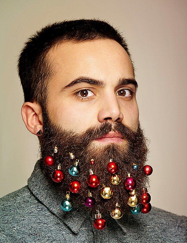 Борода из ваты: елочные игрушки для бороды - сувенирный хит Британии завоевывает мир