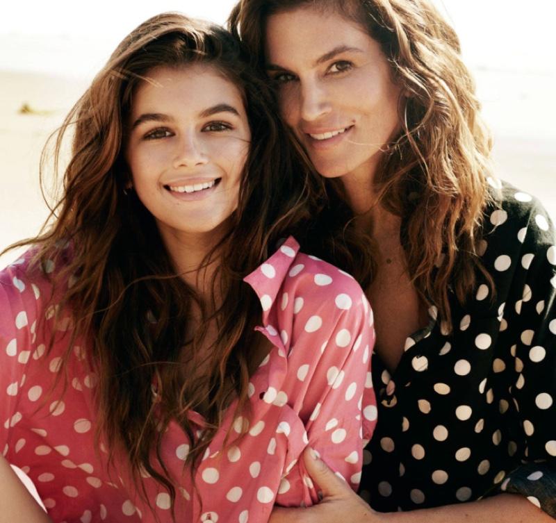 Мама и доця: Синди Кроуфорд с дочерью Кайей снялась для Vogue Paris фото
