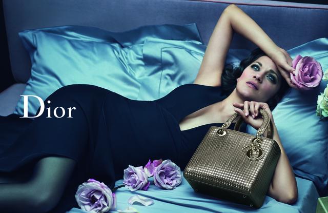 О, Dior: томная Марион Котийяр представляет круизную коллекцию Lady Dior