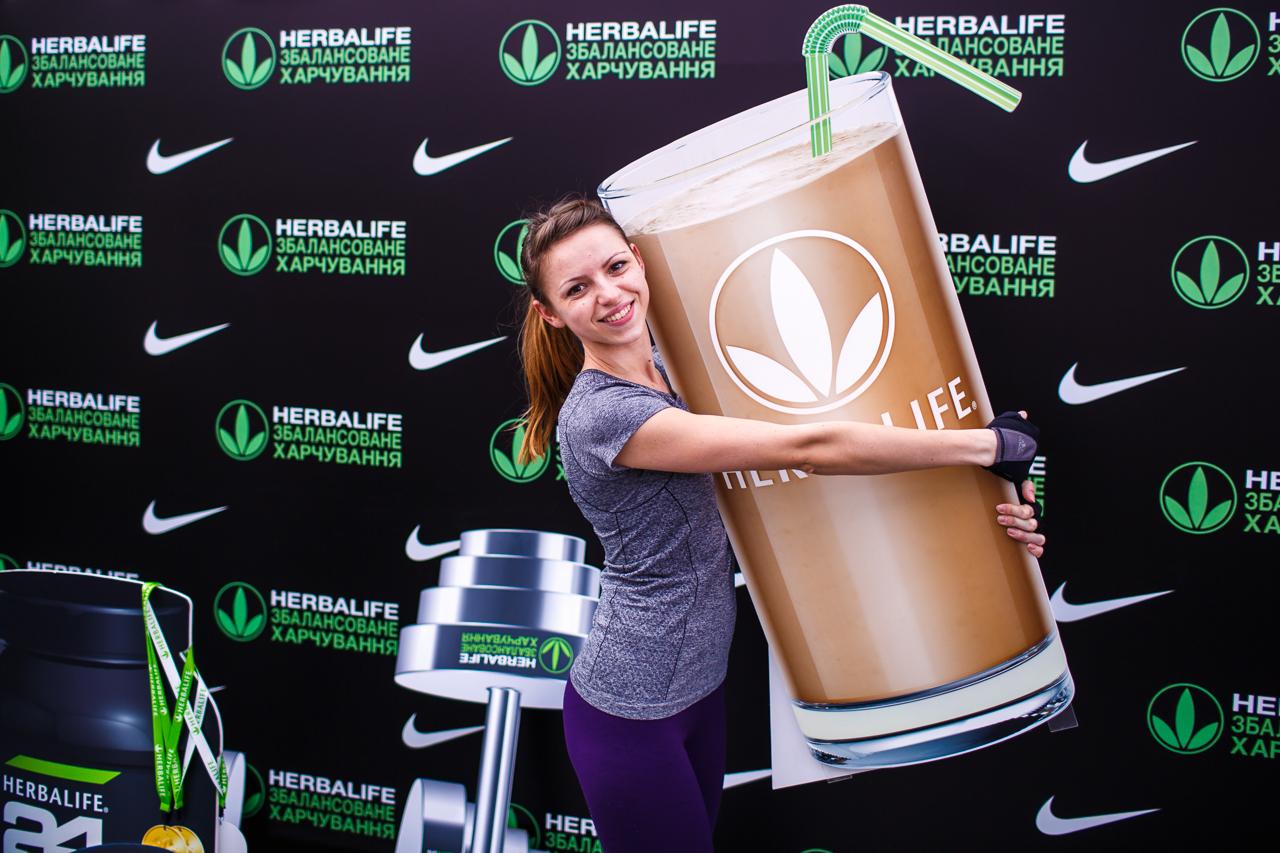 Как это было: звезды спорта и сбалансированное питание от Herbalife на фитнес-конвенции Nike