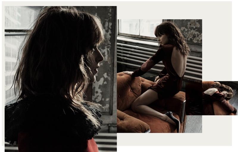 Миссис манящий взгляд: Дакота Джонсон в новой фотосессии для журнала Interview