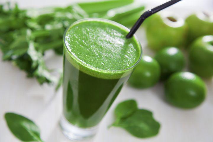 Рецепты детокс-соков: Зеленый фреш