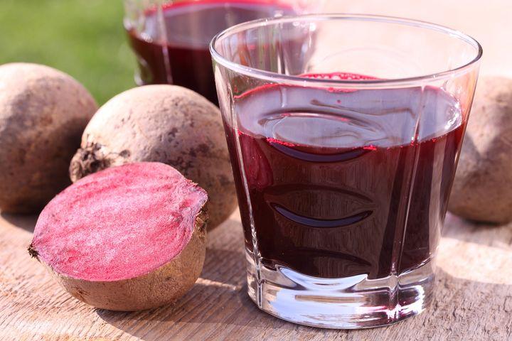 Рецепты детокс-соков: Свекольно-ягодный фреш