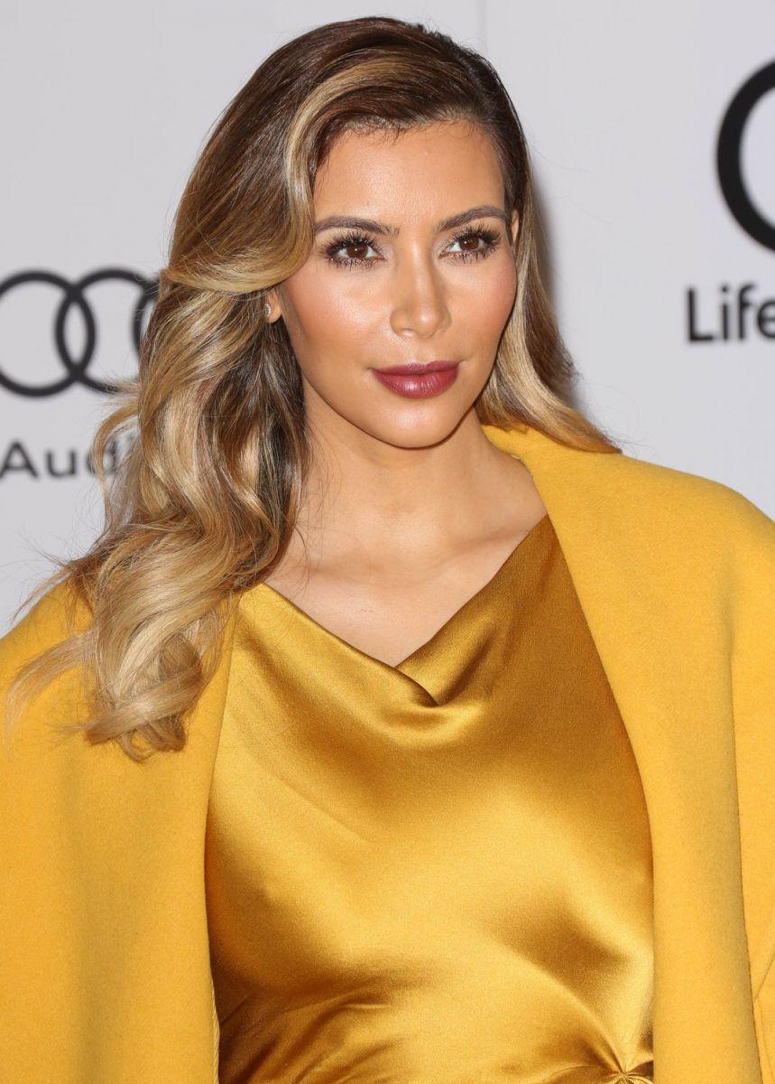 Секреты красоты волос Ким Кардашьян
