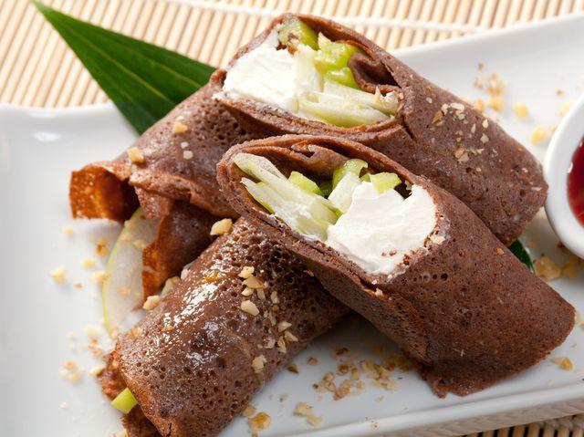 шоколадные блинчики рецепт фото