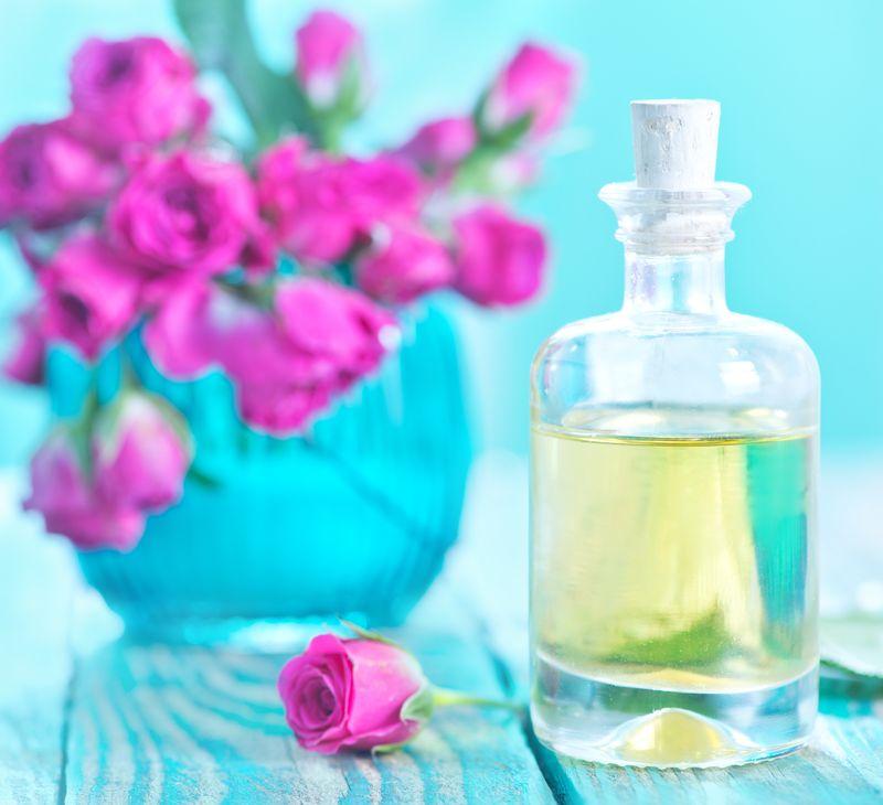 Spa-уход за волосами на основе масла шампанской или пурпурной розы