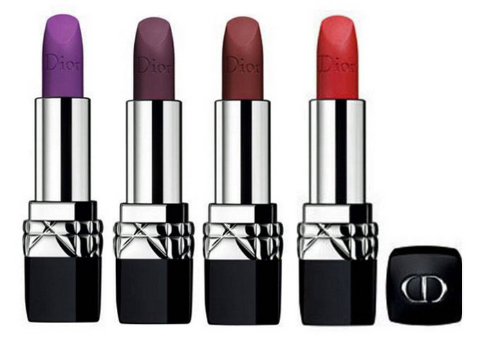 Внезапно: Dior выпустили матовые помады Rouge Dior Matte в необычных оттенках