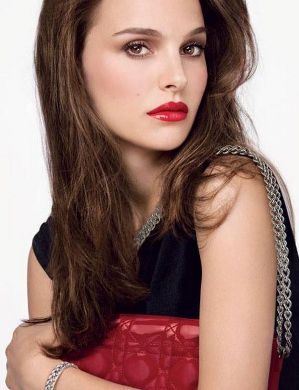 бворожительная Натали Портман представляет 12 оттенков Dior